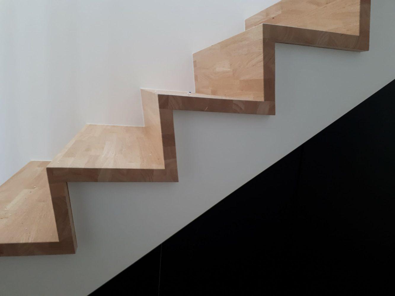 Escalier En Bois Avec Rangement tendance bois - menuiserie et mobilier bois | escalier en z