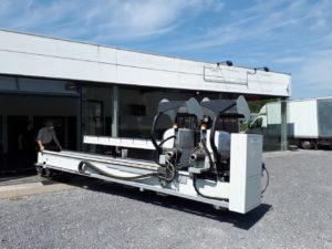 Machine chassis alu