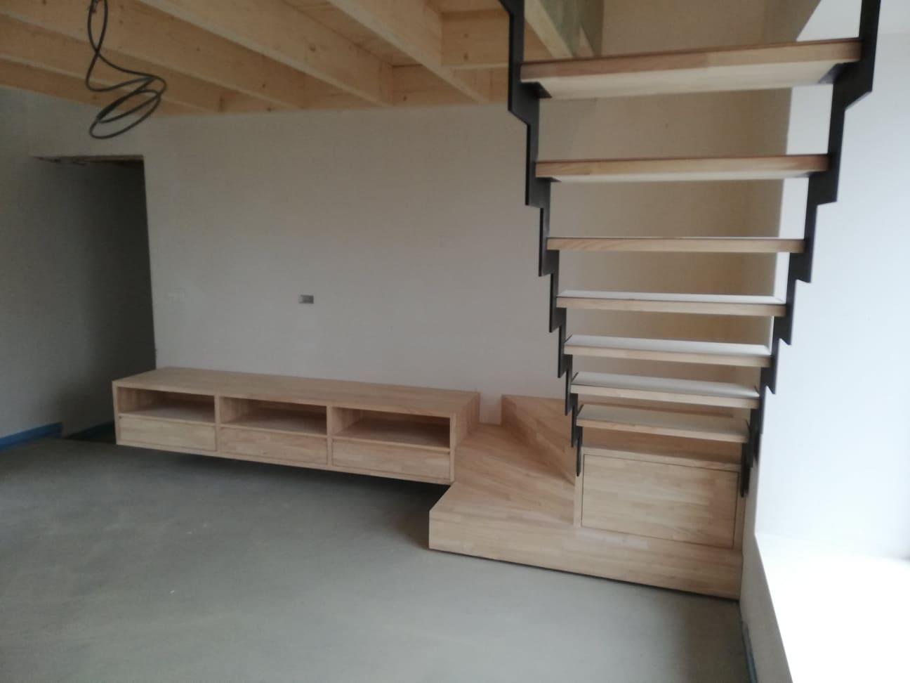 Escalier En Bois Avec Rangement tendance bois - menuiserie et mobilier bois | hamois